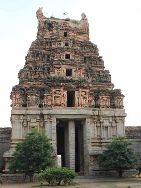 Another tower at Malyavanta Raghunatha Temple
