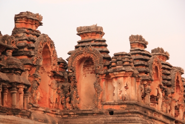 Close up details of Raghunatha Temple