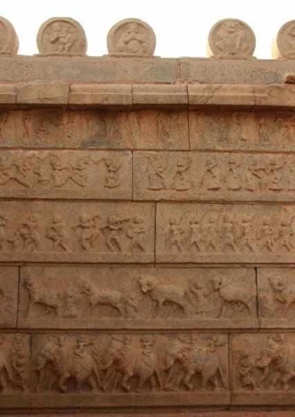 Exterior wall of Rama temple