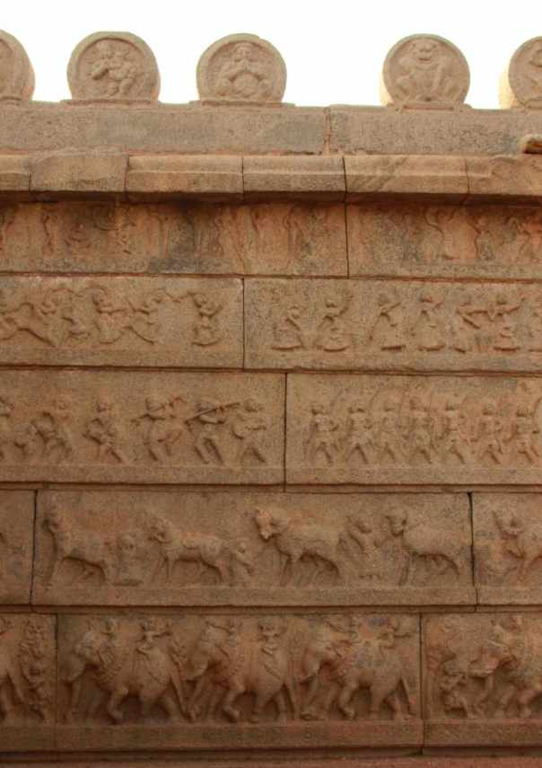 Exterior wall of Rama temple