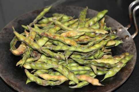 Fresh beans peas