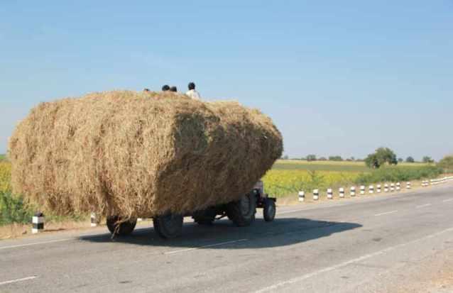 Overloaded tractors