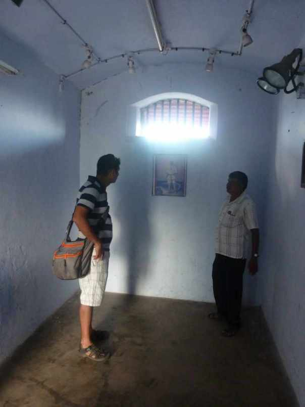 Savarkar's cell