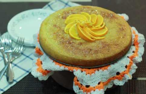 Cake glazed