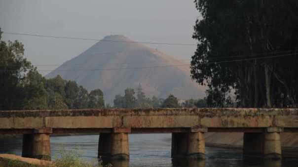 Canal near Tungabhadra dam