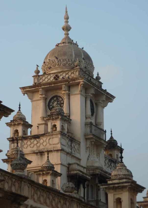 Clock Tower at Chowmahalla Palace