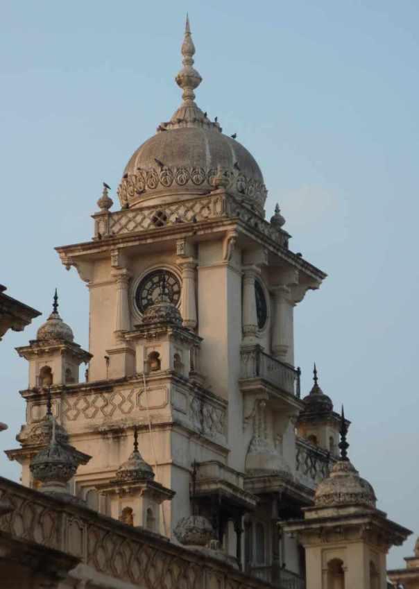 Clock Tower at Chowmahalla Palace