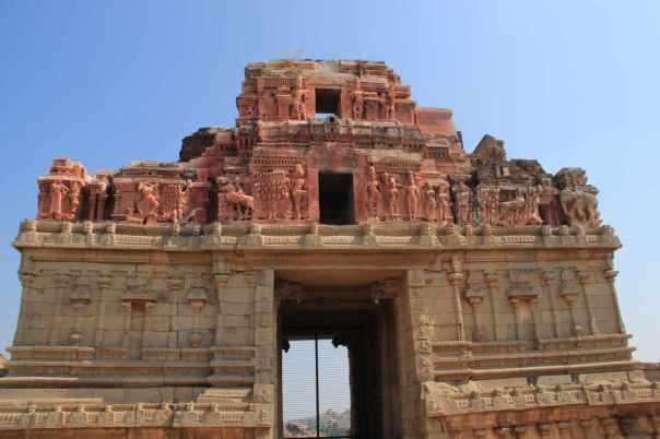 Entrance tower Krishna temple