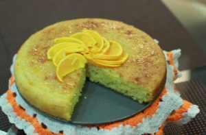 Glazed cake