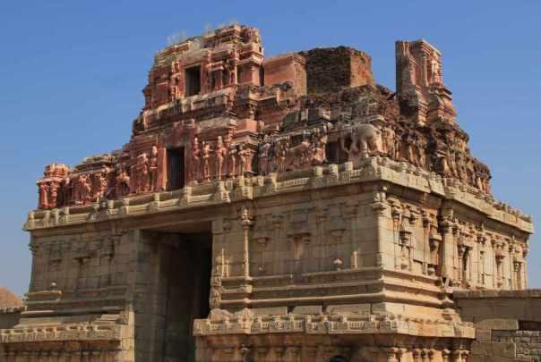 Krishna temple main entrance