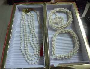 Necklace and mangalsutra