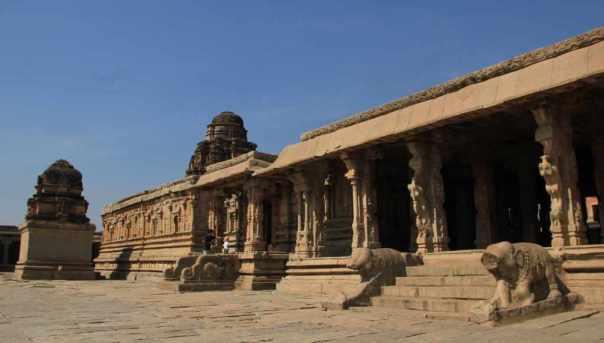 Temple complex krishna temple