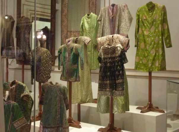 Vintage clothes at Chowmahalla Palace