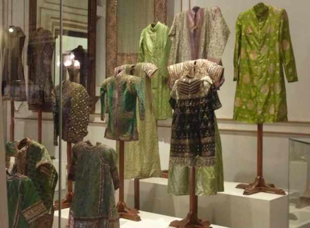 Vintage clothes at Chowmahalla Palace